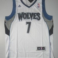 Rare Derrick Williams 7 Minnesota Timberwolves New Basketball Jersey Derrick William N