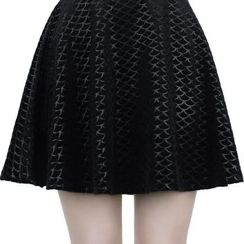 Black Sea | SKATER SKIRT