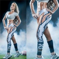 Denver Broncos Printed Leggings