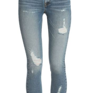 Vigoss Jagger Destructed Classic Fit Skinny Jeans