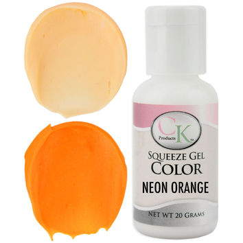 Neon Orange CK Gel Paste Food Coloring