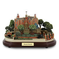 Disney Parks Haunted Mansion Miniature with 3 scenes Figurine by Olszewski new