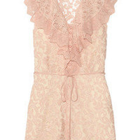 ALICE by Temperley | Surya lace playsuit | NET-A-PORTER.COM