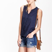 Old Navy Womens Embroidered Tank