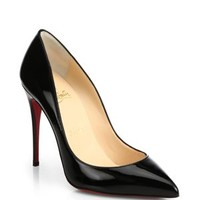 enabled: truelabel: Christian Louboutin-So Kate Patent Leather Pumps