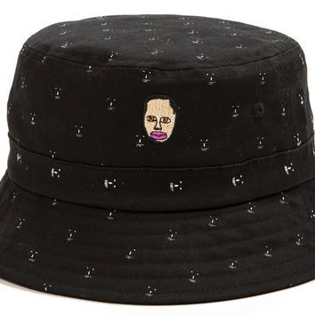 1d25892b97e85e EARL CHUM BUCKET HAT BLACK – Odd Future from Odd Future