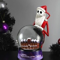 Neca Nightmare Before Christmas NBX - Waterball - Christmas Santa Jack