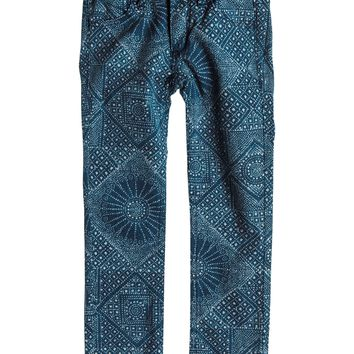 Roxy - Girls 2-6 Emmy Printed Jeans
