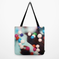 Tote Bag - Cupcake Sprinkles Photo - Grocery Bag - Beach Bag - Carry All Tote - Book Bag - Colorful Sprinkles - Made to Order