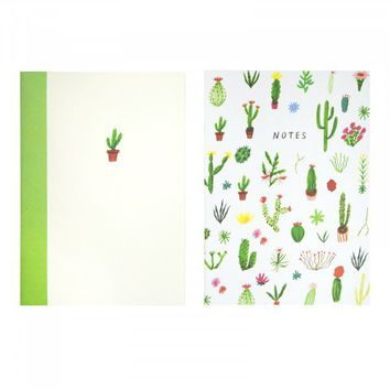 Cacti Icons 2 Pack Notebooks