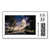 The White House Postage Stamp