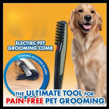 Knot Out Electric Pet Grooming Comb for Cats and Dogs