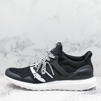 Undefeated X Adidas Ultra Boost Black White - Best Deal Online