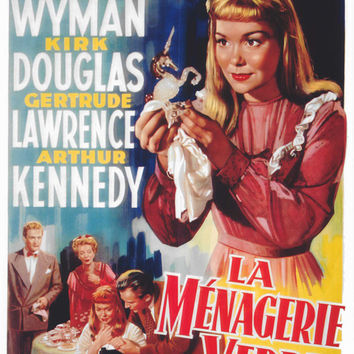 The Glass Menagerie (Belgian) 11x17 Movie Poster (1950)