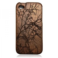 Wood IPhone 4 / 4s Case - Hand Carv.. on Luulla