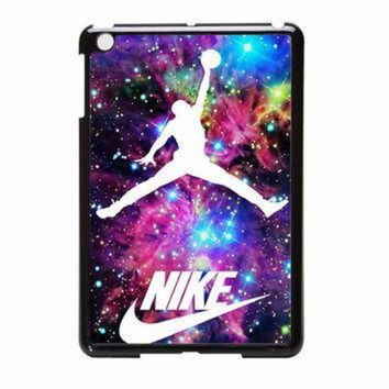 CREYUG7 Michael Jordan On Galaxy Nebula New Custom iPad Mini 2 Case