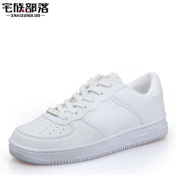 Newest Classic All White Unisex Casual Shoes Footwear