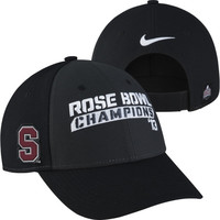 Nike Stanford Cardinal 2013 BCS Rose Bowl Champions Official Locker Room Coaches Adjustable Hat - http://www.shareasale.com/m-pr.cfm?merchantID=7124&userID=1042934&productID=526860493 / Stanford Cardinal