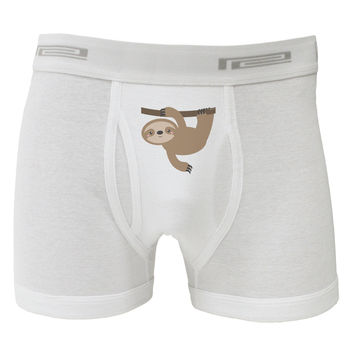 Cute Hanging Sloth Boxer Briefs