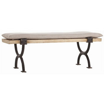 Arteriors Home Atlas Wood/Iron Bench/Cocktail Table