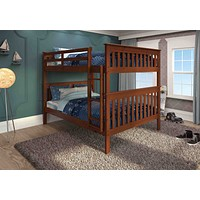 Zachary Full over Full Espresso Bunk Beds