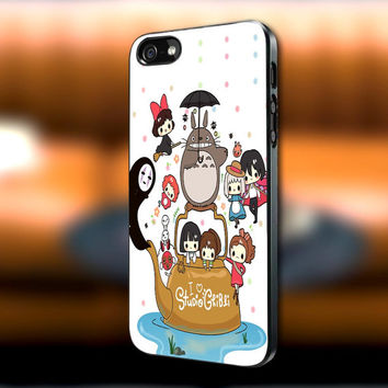 Studio Ghibli Characters iPhone case, Studio Ghibli Characters Samsung Galaxy s3/s4 case, iPhone 4/4s case, iPhone 5 case