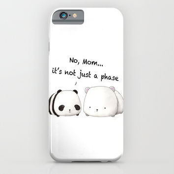 Emo Panda iPhone & iPod Case by Sherry Yuan