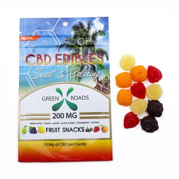 Green Roads CBD Fruit Snacks 200mg