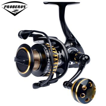 PRO BEROS Fishing Reel 11+1 BB Ball Bearings Type Alloy Line Cup Wheel for Saltwater Fishing 5.0:1 Spinning Reel PN3000