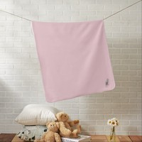 light pink Baby Blanket