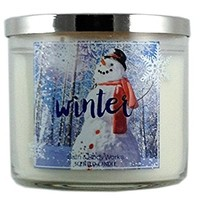 Bath & Body Works Candle 3 Wick 14.5 Ounce Holiday 2015 Winter