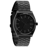 Nixon The Time Teller Watch All Black One Size For Men 15304517801