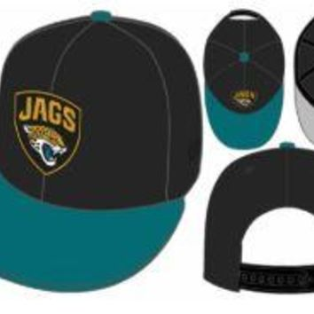 NFL Jacksonville Jaguars Black Title Wave 9Fifty Hat