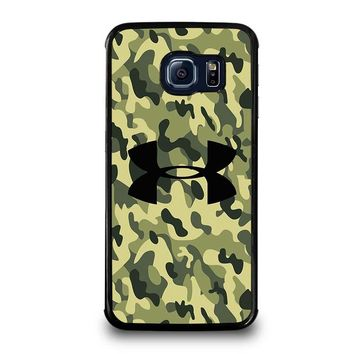 CAMO BAPE UNDER ARMOUR Samsung Galaxy S6 Edge Case Cover