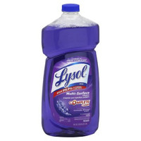 Reckitt & Benckiser Lysol 4in1 Lavender Cleaner-All-Purpose Cleaner, Disinfectant, 40 oz., Lavender Breeze