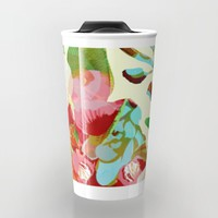clown floral Travel Mug by Clemm