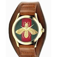 GUCCI Ladies Men Watch Little bee Ltaly Stylish Watch H-PS-XSDZBSH