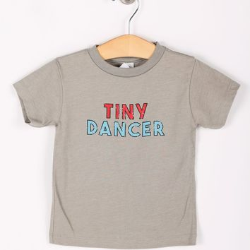 Friday + Saturday Tiny Dancer Onesuit and Toddler Tee