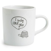 Natural Life 'Turtle - I Love You' Ceramic Mug - White