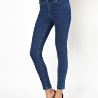 Just Female | Just Female High Waist Skinny Jeans at ASOS