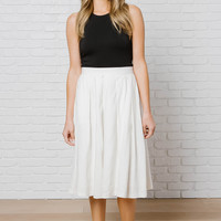Savannah Midi Skirt-FINAL SALE