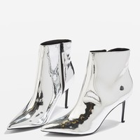 MIMOSA Metallic Ankle Boots | Topshop