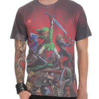 Nintendo The Legend Of Zelda: Ocarina Of Time Sublimation T-Shirt | Hot Topic