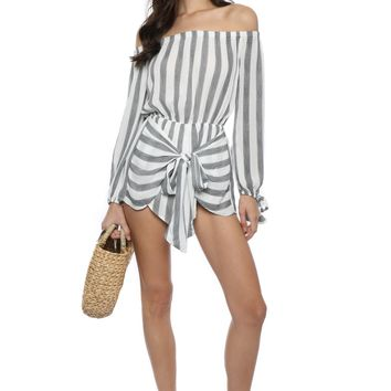 Sunday Stevens Sea Stripe Romper