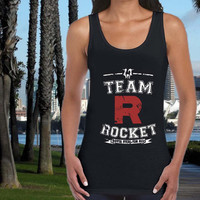 Pokemon team rocket tank top US