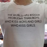 'Love Kiss Love' T-Shirt