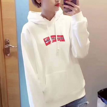 """""""Supreme"""" Casual Fashion Sport Monogram Print Long Sleeve Sweater G-A-GHSY-1"""