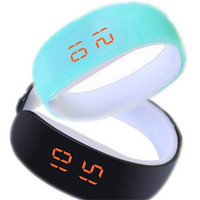 Unisex Digital Watches Boys Girls Running Sports Bracelet Watch Best Gift