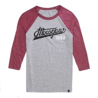 Moosejaw White Lightning 3/4 Sleeve Baseball Tee - Men's