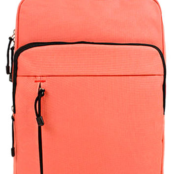 Coral Pink Fashion School Backpack